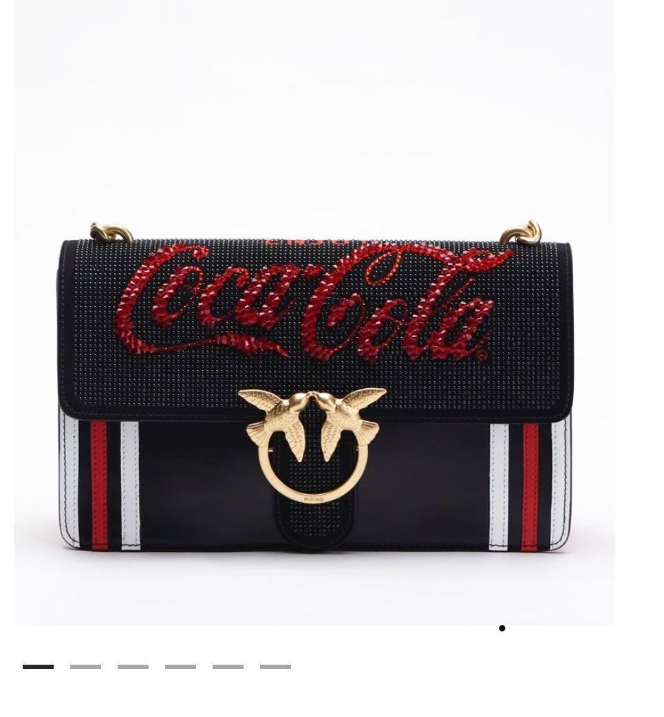 feee6885e6 PINKO COCA COLA, Luxury, Bags & Wallets, Handbags on Carousell