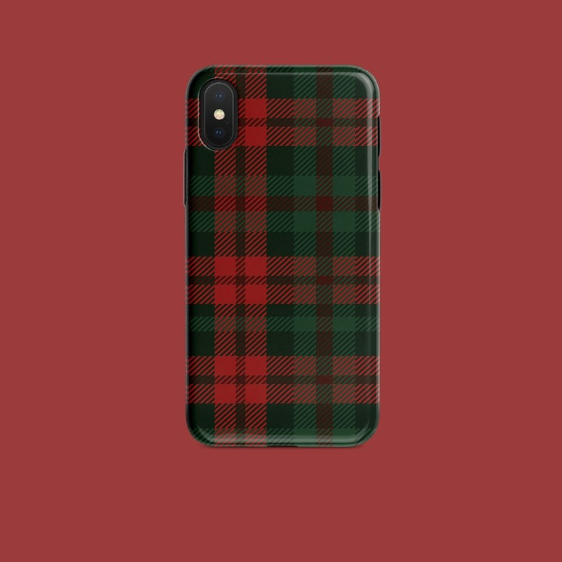 finest selection 2e9e1 e69bc [PO] Red Plaid iPhone Cover (Oppo/Vivo/Huawei)
