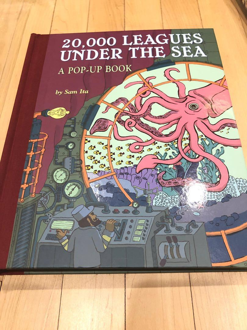 Pop Up Book 20 000 Leagues Under The Sea Books Stationery Children S Books On Carousell