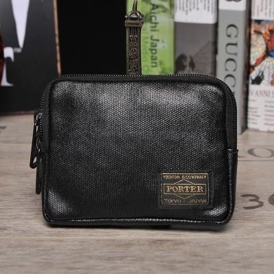 PORTER original men's zip coin wallet