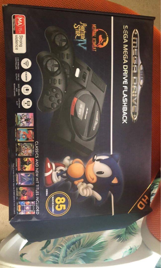 Sega Mega Drive, Video Gaming, Gaming Consoles on Carousell
