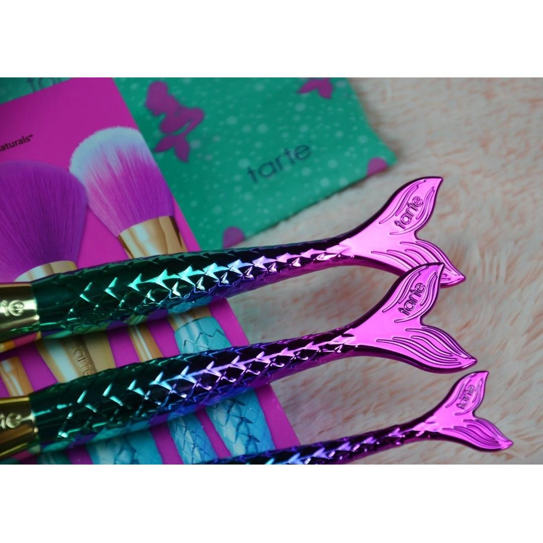 TARTE Minutes To Mermaid Brush Set (Limited Edition) BRAND NEW & AUTHENTIC [NO SWAPS, PRICE IS FIRM]