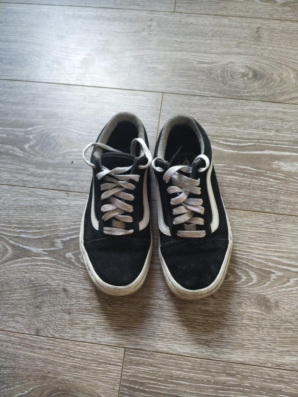 VANS OLD SKOOL ODLSKOOL sneakers trainers converse black sz 6