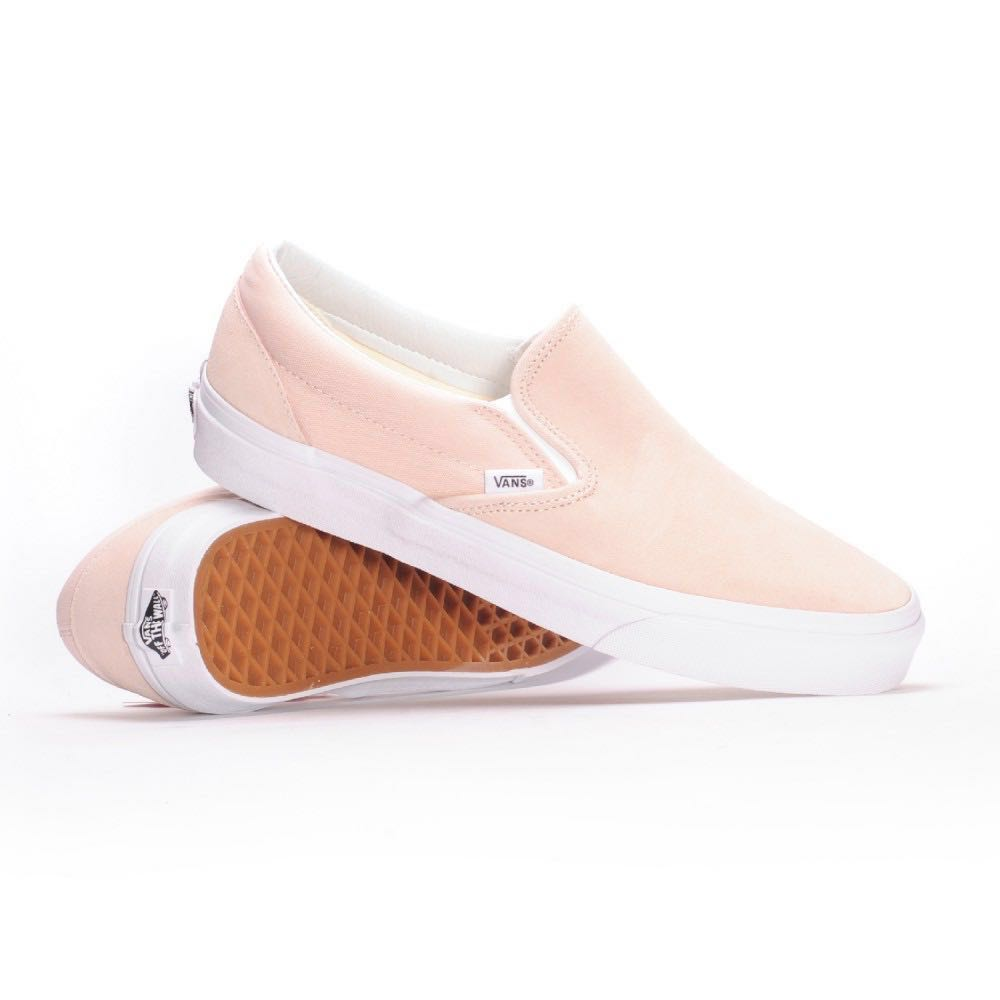 76a6888738ea Vans  Suede Slip On Pink US Wmns 7.5