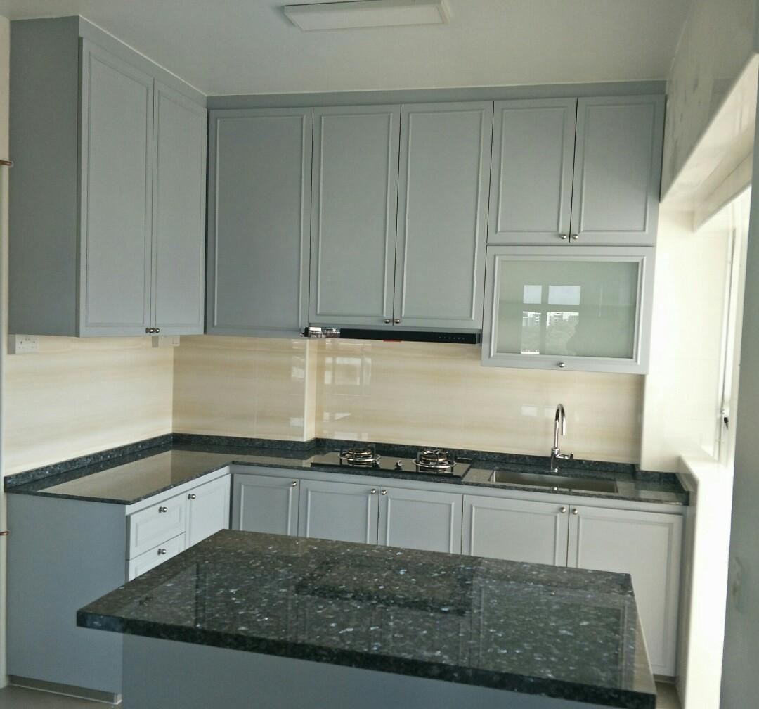 Victorian style kitchen cabinets direct factory price. Cheap ...