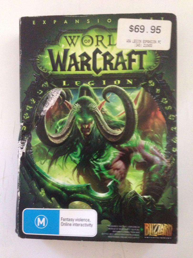 War of Warcraft legion PC game