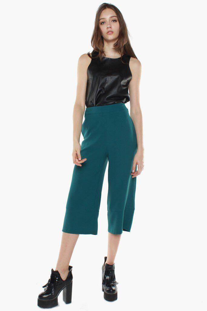 YHF teal pants