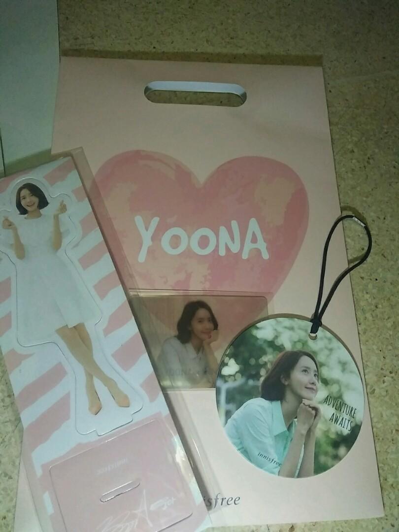 YOONA X INNISFREE - Official Fan Merchandise Kit (Unsealed)