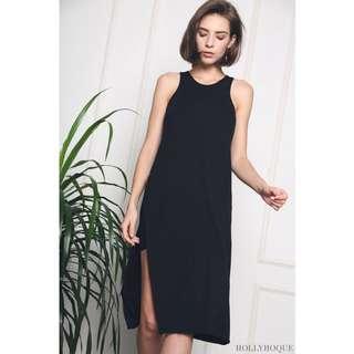 🚚 Hollyhoque Samantha Hi-lo Dress, Black