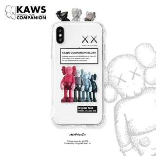 iPhone case手機殼 Kaws Companion Blush