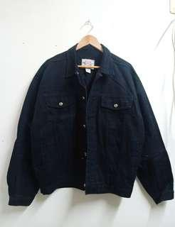 MEn denim jacket Large