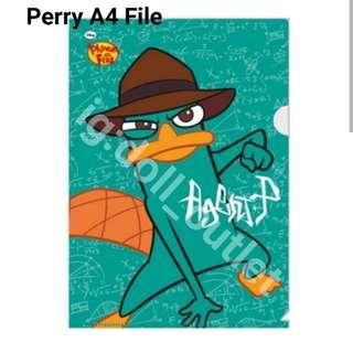 泰瑞 Perry 鴨咀獸泰瑞 disney Secret agent agentP SH泰瑞 A4FILE FILE