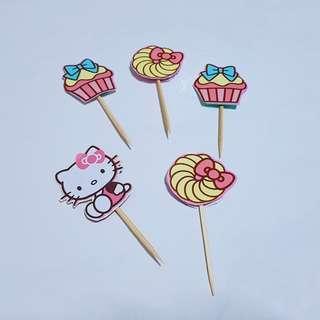 Hello Kitty Toppers Handmade