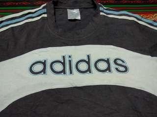 Adidas kain sambung Tshirt