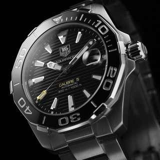 ec74cdf3508 BNIB Tag Heuer Aquaracer 43mm Ceramic Bezel Diver Automatic Calibre 5 with  FREE DELIVERY 📦 Agent