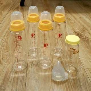 🚚 貝親標準口徑玻璃奶瓶