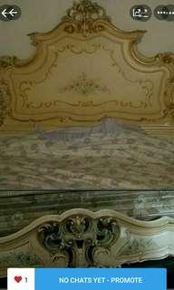 Bed Frame. Italy. Dismantled