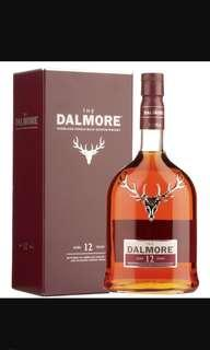 dalmore 12年 whisky 威士忌