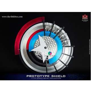 1:1 LIFE SIZE CAPTAIN AMERICA PROTOTYPE SHIELD (METAL)