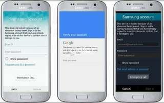 Remove Google Lock on Samsung Phones