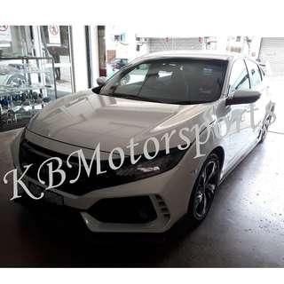 Honda Civic FC Bodykit With Spray Color & installation
