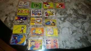 Snoopy stickers 史諾比正版貼紙 (每張獨立包裝,絕版)