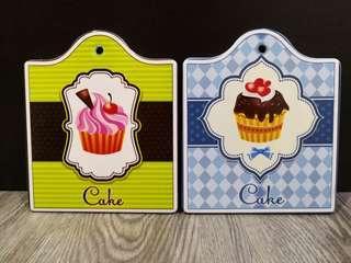 Cupcake Decorative Coasters
