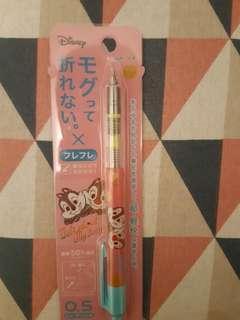 日本迪士尼Chip and Dale奇奇與蒂蒂pilot mogulair 0.5 鉛芯筆