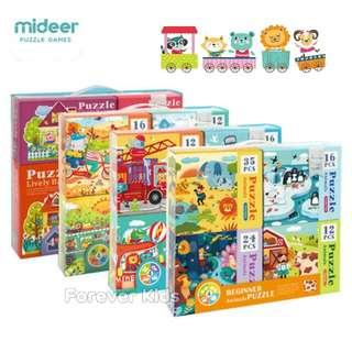 🎪MiDeer FOUR-IN-ONE theme Puzzle🚒