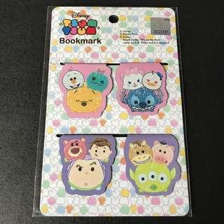 #粉 Tsum Tsum 磁石書夾書簽 Bookmark 迪士尼 Disney