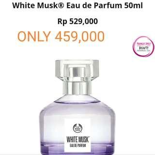 White musk EDP and EDT