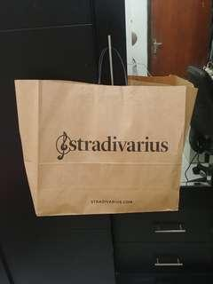 Stradivarius Large Paperbag
