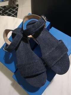 Esprit denim platform shoes