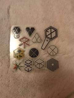 3D Sticker exo