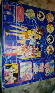 Sailormoon SuperS stickers 美少女戰士貼紙(全整版1992年非賣品)