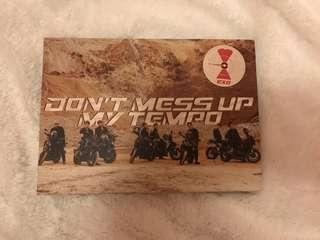 Album only or with pc exo dont mess up my tempo