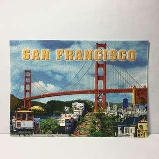 美國明信片 舊金山 San Francisco