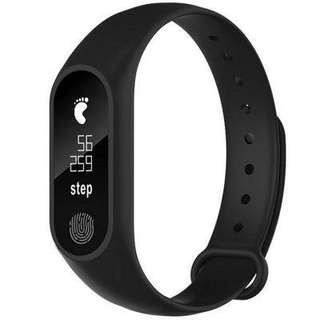 M2 Waterproof Fitness Smart Bracelet Heart Rate Monitor for iPhone Android