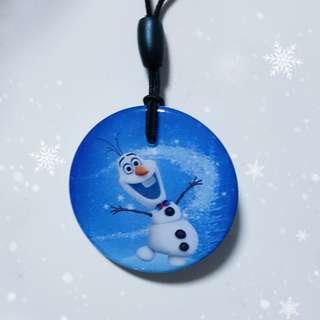 Frozen Olaf ezlink charm