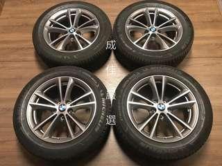 新❗️車❗️落❗️地  💠BMW G30 正原廠17吋鋁圈 + 米其林失壓續跑胎