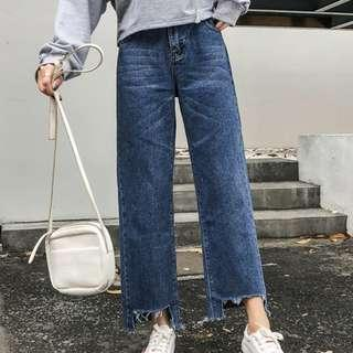 [PO] Plus Size straight cut jeans