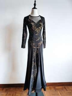 Latin / Ballroom Dance Dress - Lace
