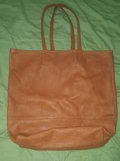 牛仔皮实用購物袋。简约而特立,柔美而用廣!