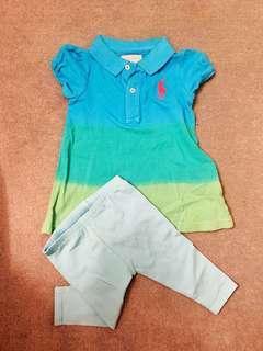 🚚 Ralph Lauren 兩件式 上衣& 褲子