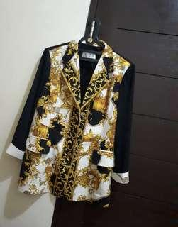 VERSACE LOOK ALIKE BLOUSE BLAZER