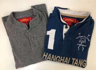 長䄂上海灘Polo Shirt (非常罕見)中國特色