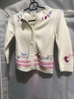 Girls Knitted Cardigan
