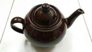 老廣州茶居 古董 石灣陶瓷 茶壺