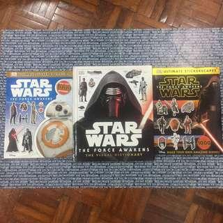 Star Wars Visual Dictionary and Sticker Book