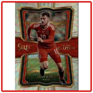 🚚 2017 Panini Select Soccer Aaron Ramsey In The Clutch